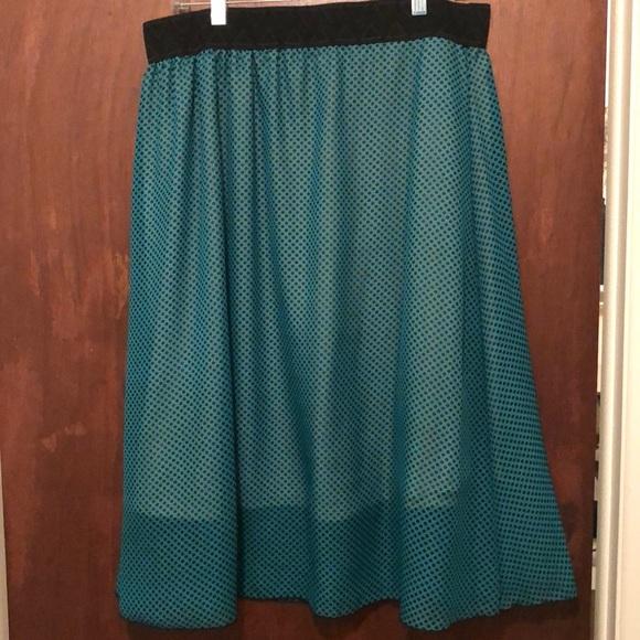 LuLaRoe XL Lola Skirt